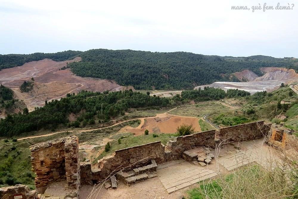 Vistas desde el Castell de Cardona
