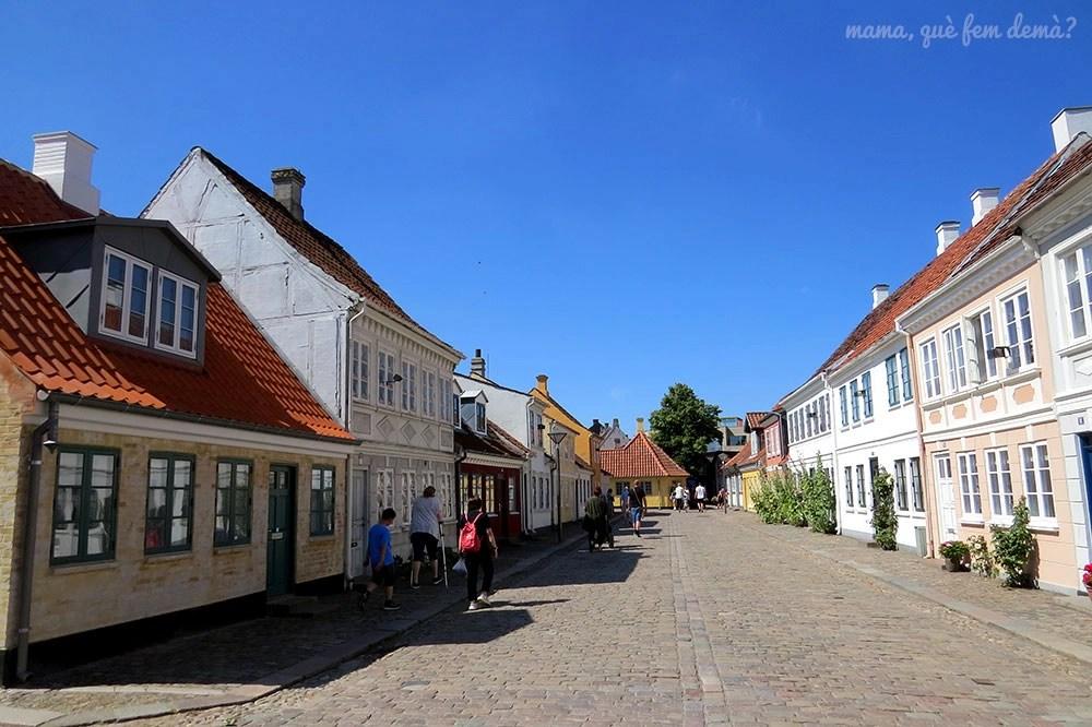 Casco antiguo de Odense, Dinamarca