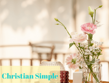 Christian simple living feature image