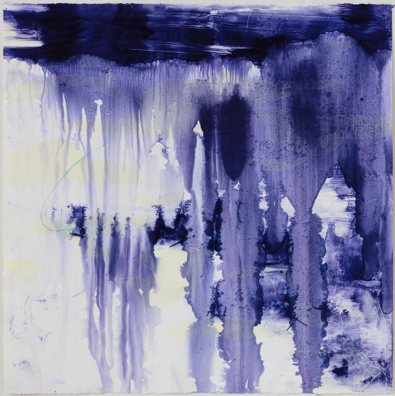 "Christine Aaron, Primordial: Search, Monotype, 22""x22"", $900"