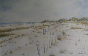 "John Wright, Fire Island, Watercolor, 20""x26"", $850"
