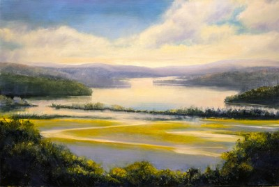 "Jane Black, Boscobel Afternoon, Oil, 24""x36"", $1,200"