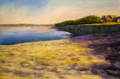 "Jane Black, Wellfleet Dawn, Oil, 24""x36"", $1,200"