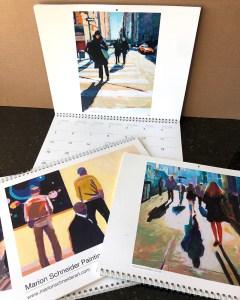 """Marion Schneider, 2021 Calendar, Printed matter, 11""""x14"""", $35 each"""