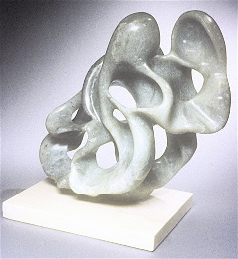 "Debora Solomon, Experiment in Negative Space, Sculpture, 9""x16""x7"",$3,000"