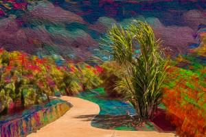 """H. David Stein, Phantasmagorical_Photograph-Hawaii, Photograph, 12""""x18.3"""",$350"""