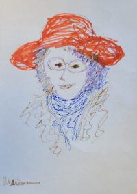 Sketch by Kristin Krauskopf