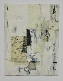 """Mitchell Visoky, A Dance II, Mixed media-paper, watercolor, 12""""x10"""", $450"""