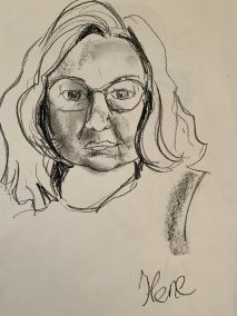 Sketch by Lisette Overweel