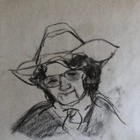 Sketch by Ruth Obernbreit