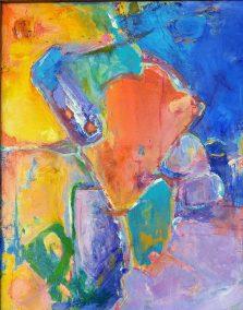 "Fabian Wes Fleurant, Mother's Day, Acrylic, 24""x30"", $1,400"