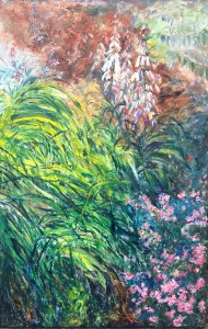 "Soma Vajpyayee, Untermyer Park 2, Oil on canvas, 36""x24"", $900"