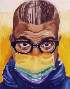 "Leslie Hardie, Roy, Oil on canvas, 16""x20"", $1,200"