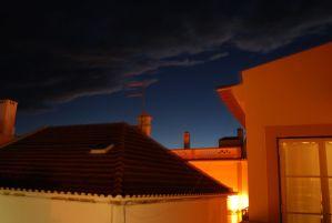 "David Greene, Goodnight Roofs, Photograph on paper, 36""x30"", $525"