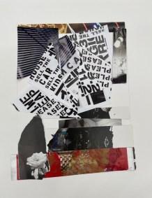 "Ilene Bellovin, Crash Boom Bah, Paper on paper, 11""x14"", $225"