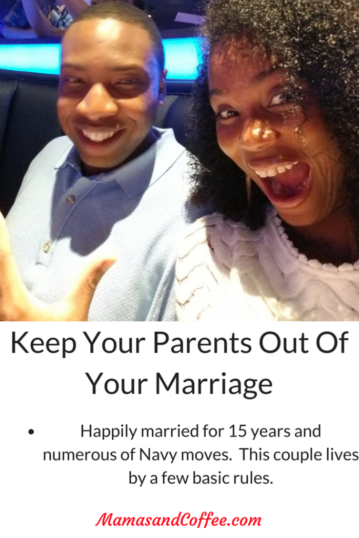 Keep your parents out of your marriage