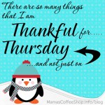 Thankful Thursday ~ Seriously, The Best Place in my House
