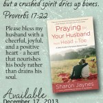 {Book Review} Praying for your Husband from Head to Toe by Sharon Jaynes