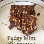 Our Valentine's Day Sweets {Two Recipes} – Fudgy Mint Brownies & Easy Chocolate Fudge