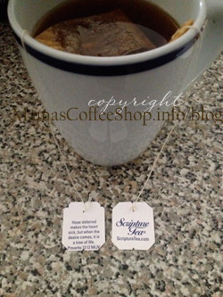 {Review} Scripture Tea – A Wonderful and Tasty Way to Be Blessed and A Giveaway!