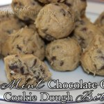 Easy Mint Chocolate Chip Cookie Dough Bites {15 minutes to munching}
