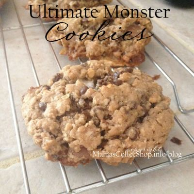 Ultimate Monster Cookies {Recipe}