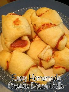 Easy Homemade Cheese Pizza Rolls {Knock-Off Recipe for Totino's Pizza Rolls}