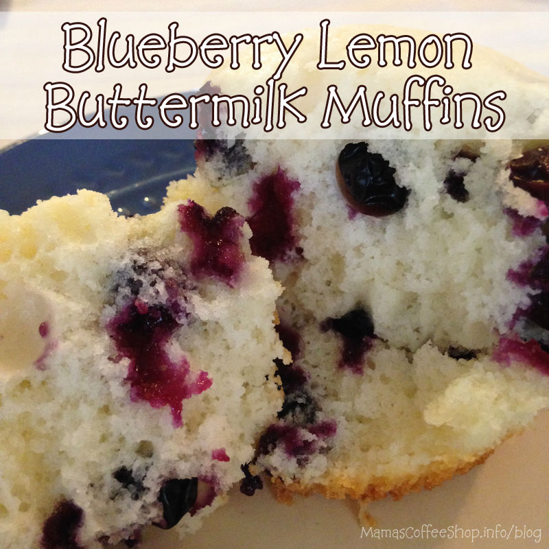 Mama's Coffee Shop - Blueberry Lemon Buttermilk Muffin
