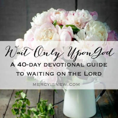 40 Day Devotional from His Mercy is New