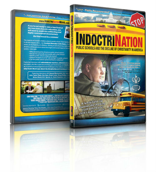 Indoctrination DVD - Public Schools and the Decline of Christianity in America   MamasCoffeeShop.info/blog