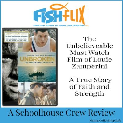{Product Review} Unbroken (Movie) Legacy of Faith Edition from FishFlix.com