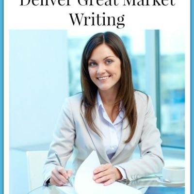 5 Steps on How to Deliver Great Marketing Writing