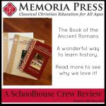 {Product Review} The Book of the Ancient Romans by Memoria Press