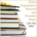 Planners for Just About Anything – Home Organization Planners {2015-2016 Edition}