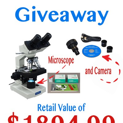 Homeschool Giveaway Valued at $1894.99 {A Microscope plus Camera}