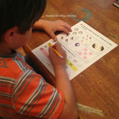 {Curriculum Review} Horizons 1st Grade Math Set from Alpha Omega Publications