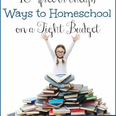 10 {Free or Cheap} Ways to Homeschool on a Tight Budget