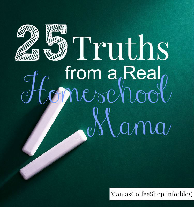Homeschool mama truths