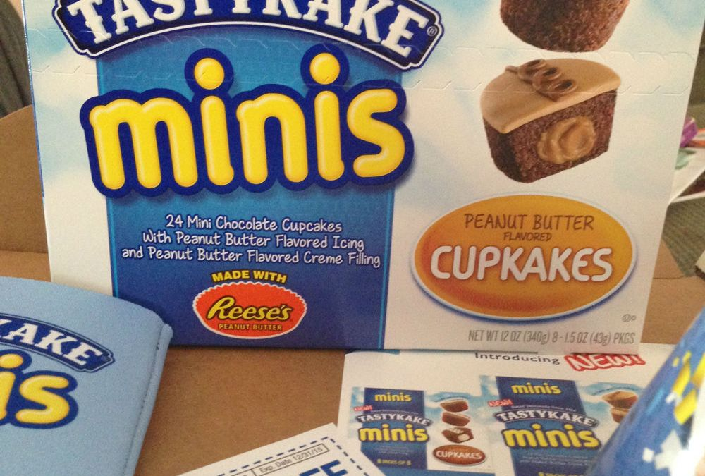 {Influenster Review} Tastykake VoxBox with Tastykake Minis