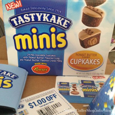 {Influenster Review} Tastykake VoxBox with Tastykake Minis