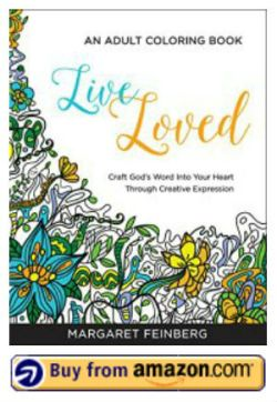 Live Loved Adult Coloring Book for Stress relief