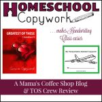 {Product Review} Homeschool Copywork makes Handwriting Class Easier