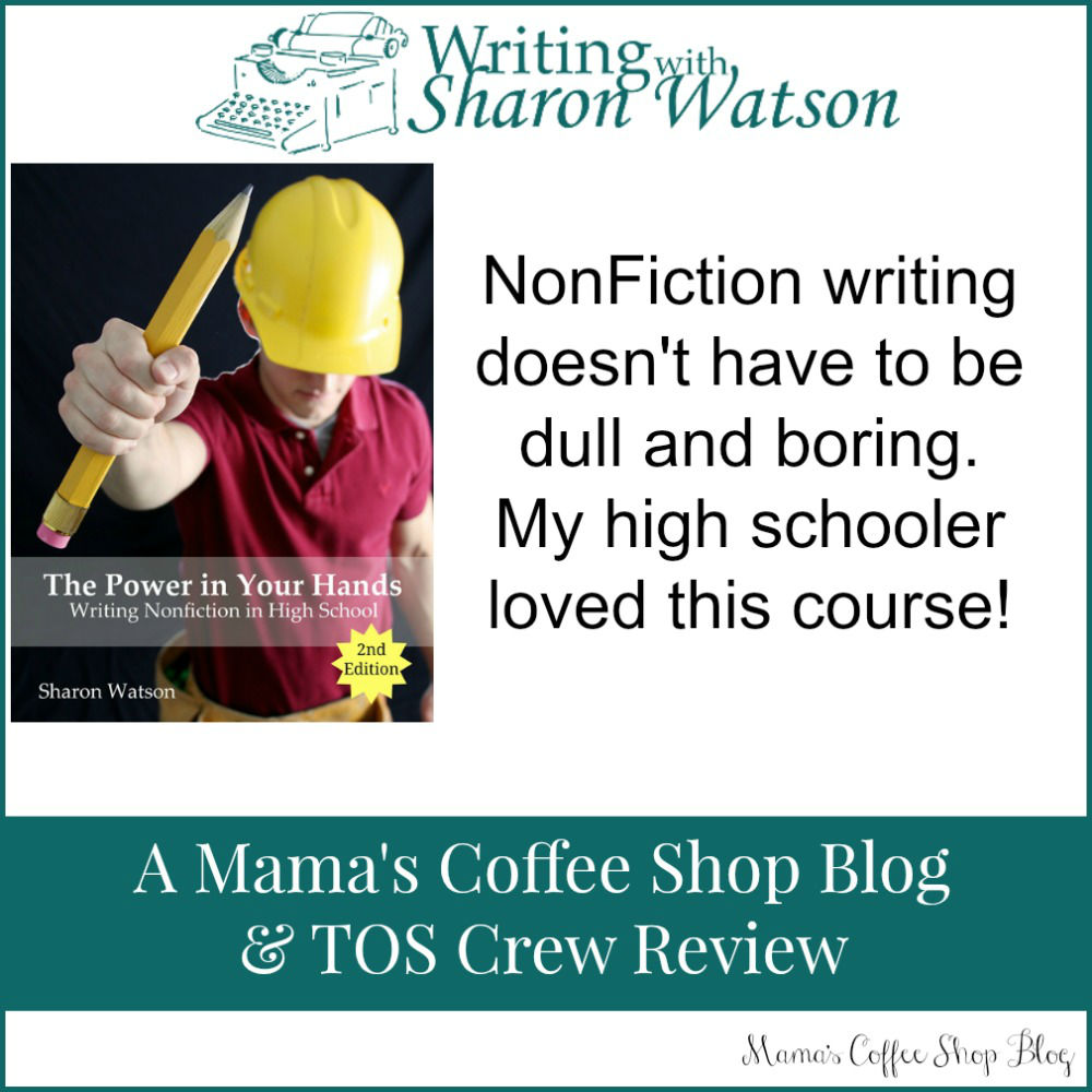 Mama's Coffee Shop Blog - Sharon Watson NonFiction Writing