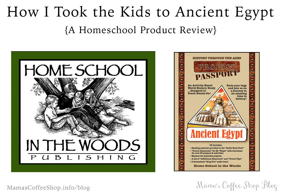 How I Took the Kids to Ancient Egypt {Product Review}