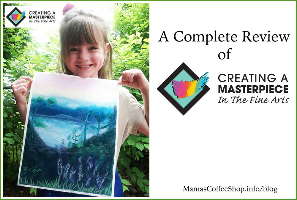 Creating a Masterpiece with Online Art {Homeschool Crew Review}