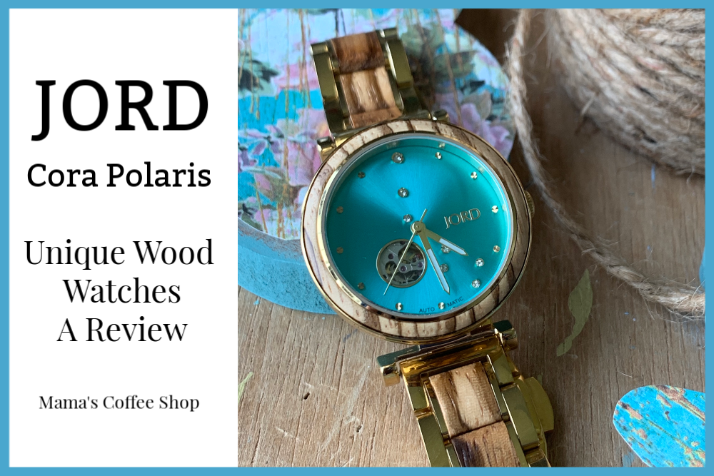 JORD Cora Polaris – Unique Wood Watches {Review}