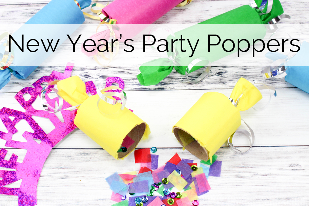 DIY New Year's Eve Party Poppers