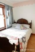 antique bed girls room