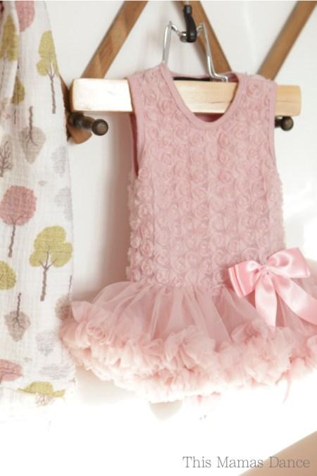 rose bodice baby tutu