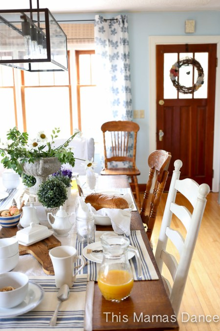 Farmhouse table Setting-1
